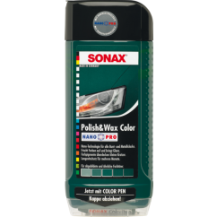 Sonax Polish & Wax p/ Colores Verdes